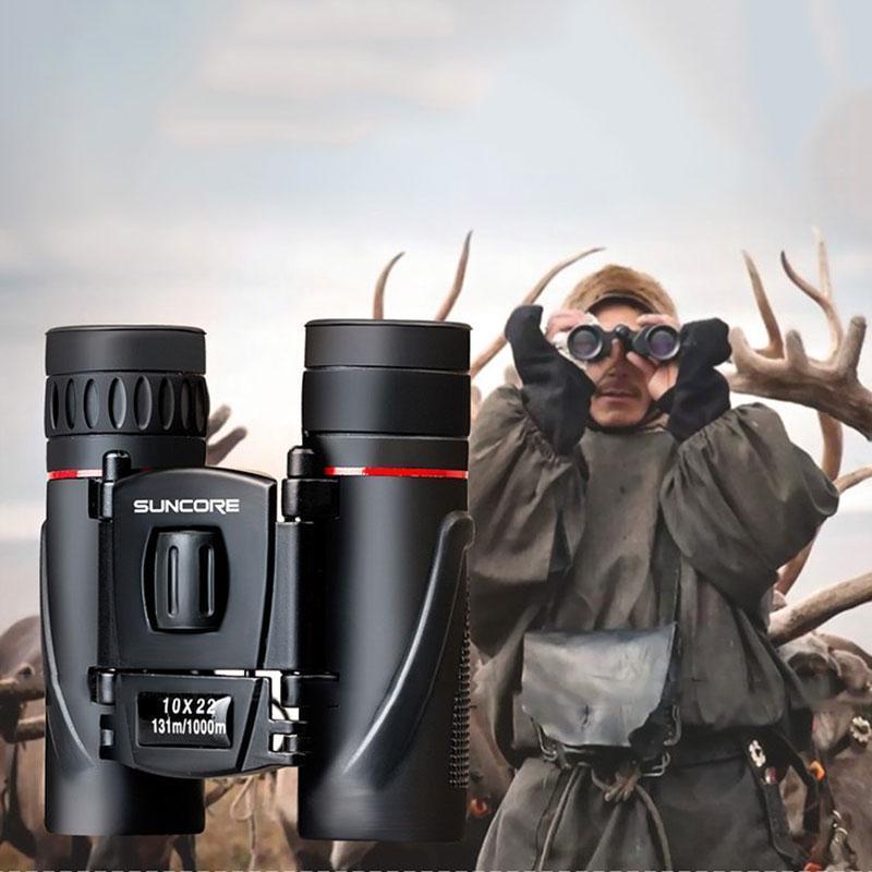 PALIGHT SUNCORE Militer HD 10x22 Teropong Profesional Berburu Teleskop Zoom Day Night Vision No Inframerah Eyepiece