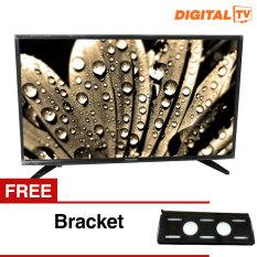 Panasonic 32 inch LED Digital HD TV - Hitam (Model TH-32E306) + Gratis Bracket