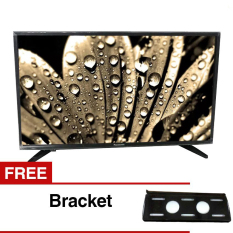 Panasonic 32 inch LED HD TV - Hitam (Model TH-32E302) + Gratis Bracket
