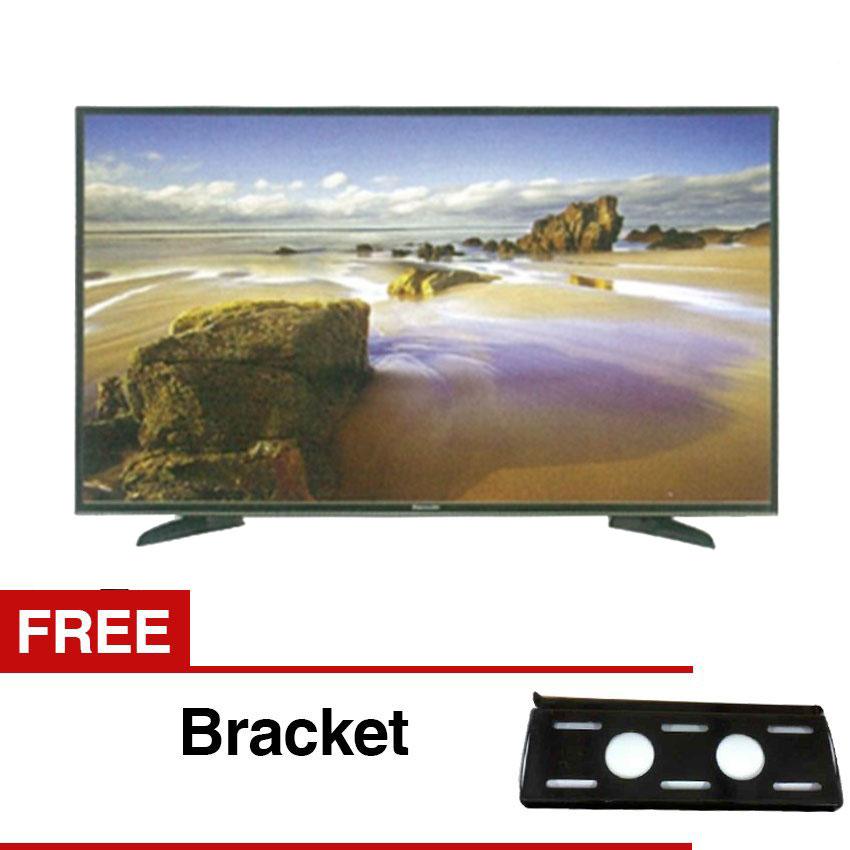 ... Panasonic 32' LED HD TV - Hitam (Model TH-32E305) + Gratis ...