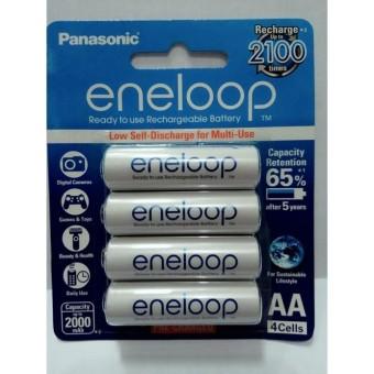 Panasonic Baterai Batt Batre Eneloop Lite AA A2 2000 mah Isi 4 pcs Rechargeable Ori Original