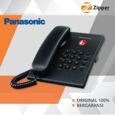 Panasonic Pesawat Telepon Cable - Single Line - KX TS505MX - Black