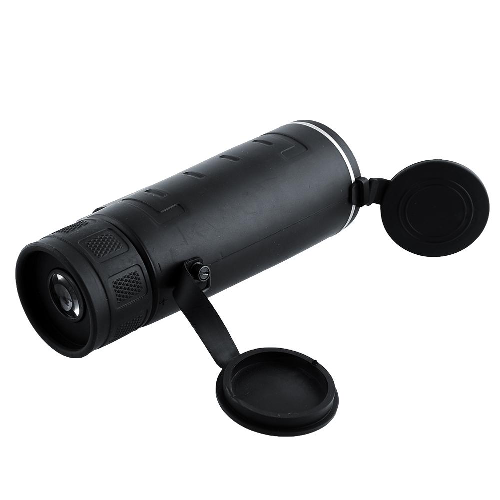 Panda Teropong Monokular Panda 35x50 Focus Lens Adjustable Telescope - Black