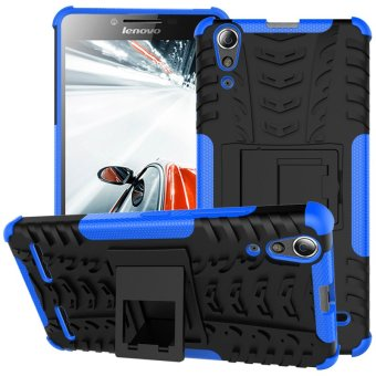 Harga PC TPU Protective Cover for Lenovo A6000/A6000 Plus (Blue)