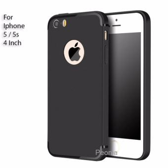Peonia Anti Fingerprint Ultraslim Hybrid Case for Iphone 5 / 5s / 5 SE 4 Inch