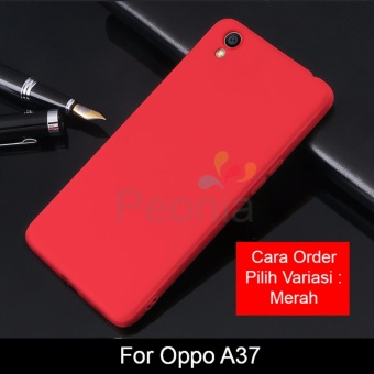 Peonia Anti Fingerprint Premium Quality Grade A Ultraslim Hybrid Case for Oppo A37 / Neo 9