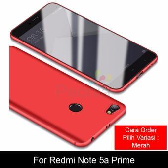 Peonia Anti Fingerprint Premium Quality Grade A Ultraslim Hybrid Case for Xiaomi Redmi Note 5A Prime