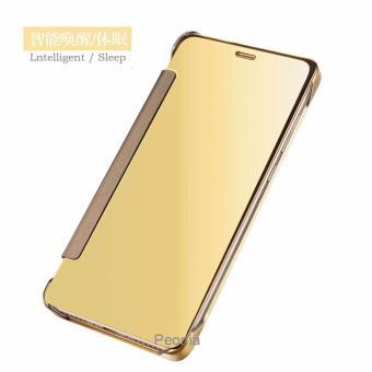 Peonia Mirror Flip Cover Case for Xiaomi Redmi 4s / Prime / Pro .