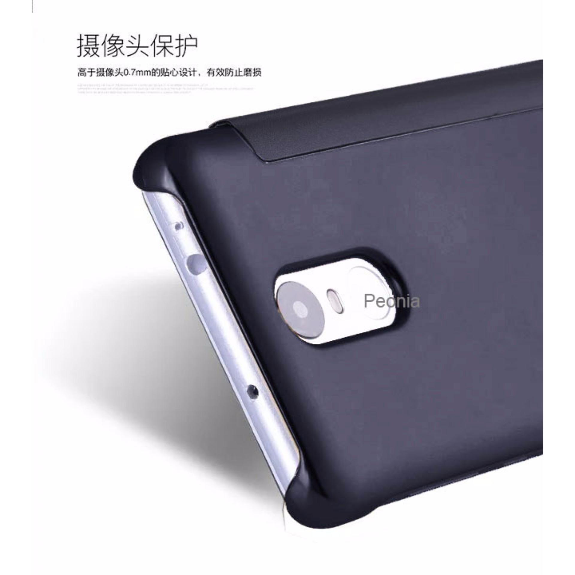 Peonia Mirror Flip Cover Case for Xiaomi Redmi Note 3 / Pro / Prime versi Kenzo
