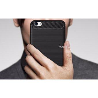 Peonia Premium Quality Carbon Shockproof Hybrid Premium Quality Grade A Case for VIVO .