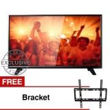 Philips 39' LED HD TV - Hitam (Model 39PHA4251S/70) Free Bracket