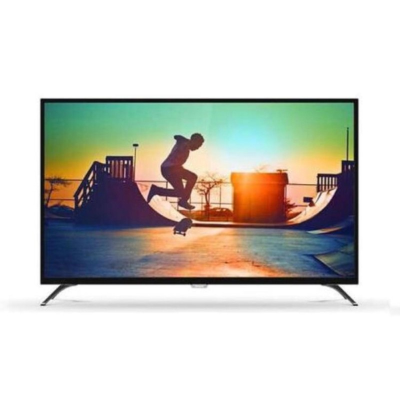 Philips 50PUT6002 4K Smart LED TV - Hitam (50 inch ) DVB-T2