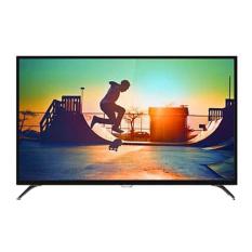 Philips 55 inch 4K Ultra SlimSmart LED TV - Hitam (Model 55PUT6002)