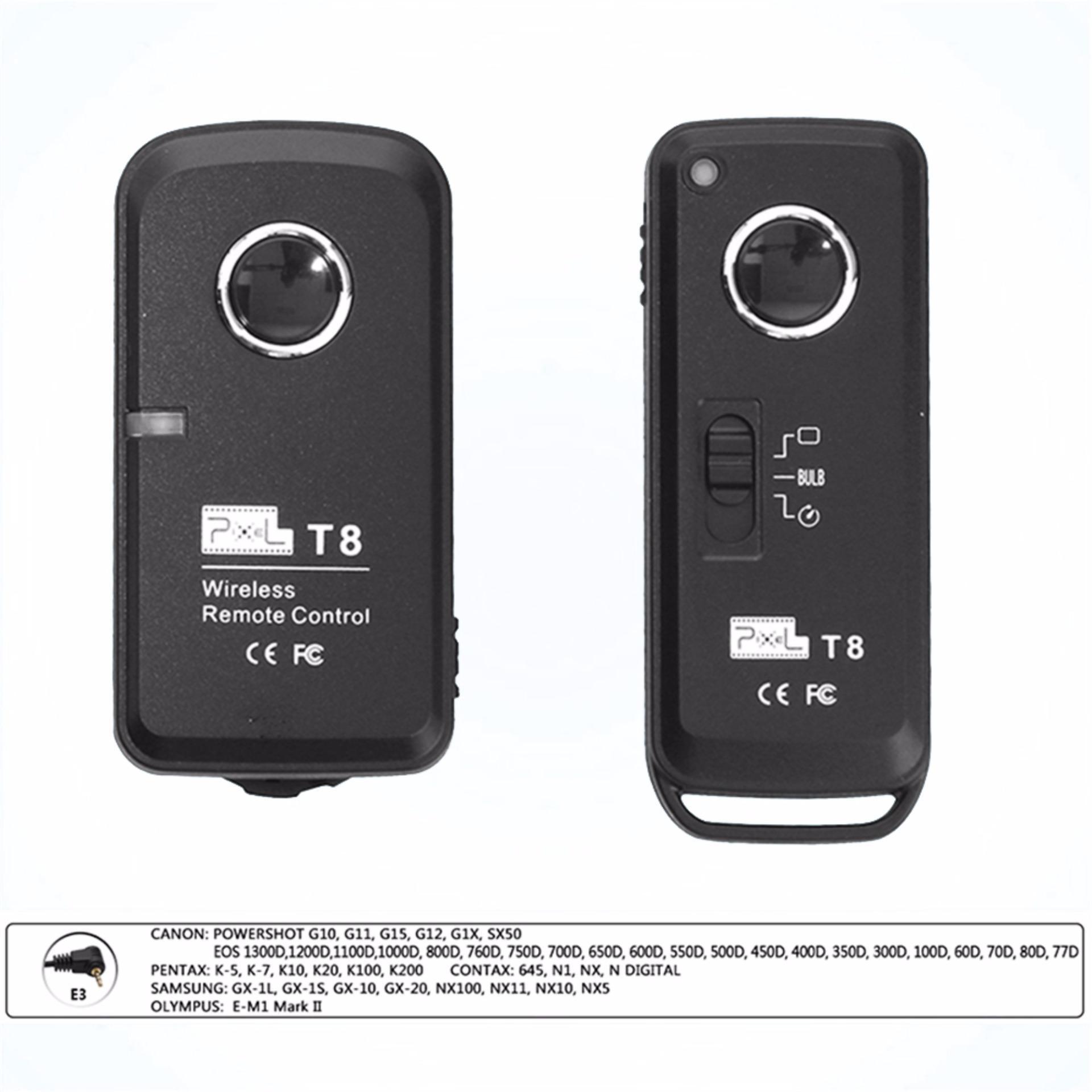... Pixel T8 E3 Wireless Shutter Release Remote Control for CanonPowershot G10 G11 G15 G12 G1X SX50 ...