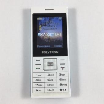 """Polytron C203 Dual Sim Candy Bar - 2.0""""- Putih-Biru"""