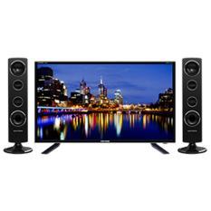 Polytron PLD32T1500 Tower CinemaX TV LED - Hitam [32 Inch] garansi 5 tahun