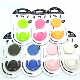pop socket + Popclip/ popsocket with holder Polos-Multi collor
