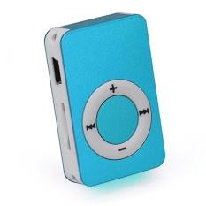 Portable USB Digital Mini Mp3 Music Player Support 8GB Micro SD/TF Card - intl