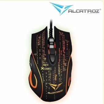 Powerlogic Gaming Mouse X Craft Z8000 Noiz Hitam Mouse Pad