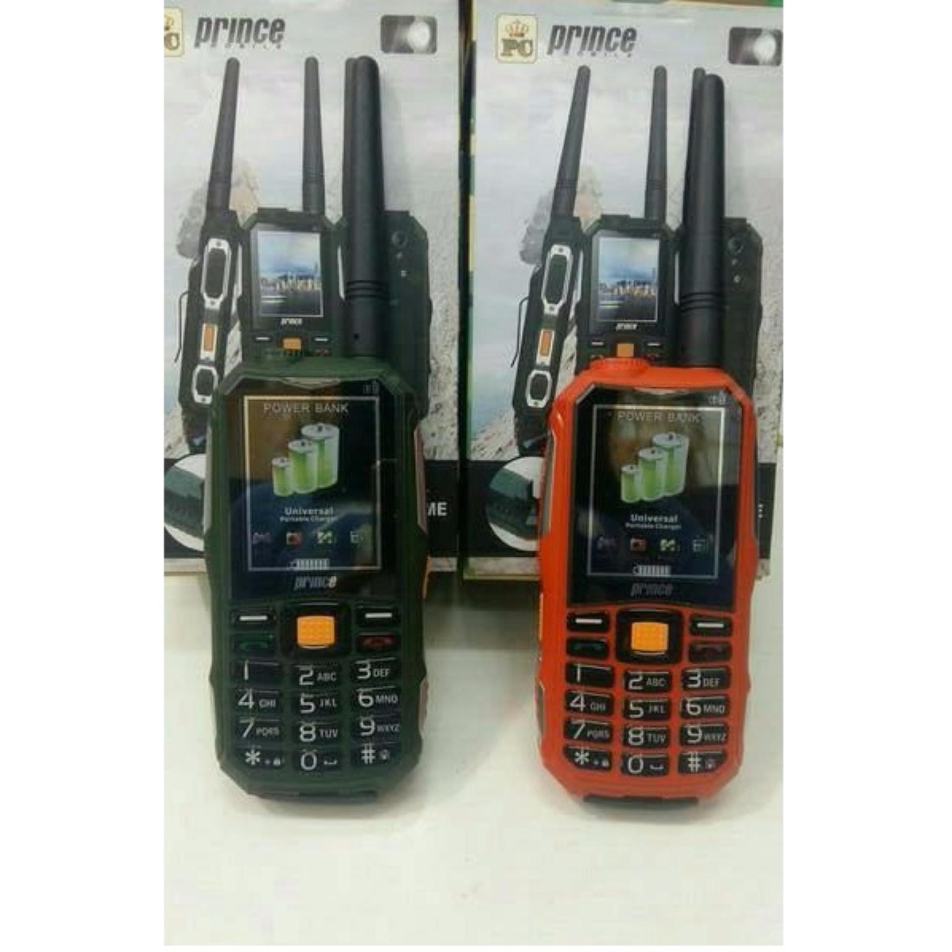 Prince PC 10 PC10 PC-10 HP Bisa HT Powerbank 12.000 MAH (ALDO 007