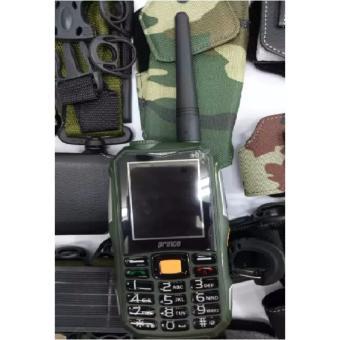 Prince PC 10 PC10 PC-10 HP Bisa HT Powerbank 12.000 MAH (ALDO 007 BRANDCODE B68) - Hijau Army