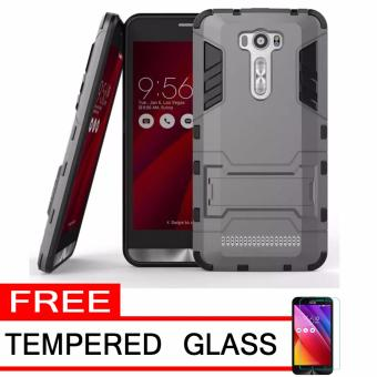 ProCase Shield Rugged Kickstand Armor Iron Man PC+TPU Back Covers for Asus Zenfone 2