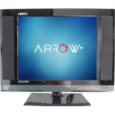 Promo LED TV Arrow 15inch Slim VGA HDMI USB Movie Multimedia Advertising Murah