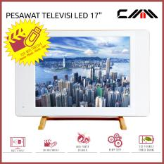 PROMO TV MONITOR LED 17 Inch - CMM - USB Movie - Fitur Lengkap - PUTIH
