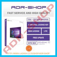 (Promo) Windows 10 Professional 64 Bit Original License Box Lifetime