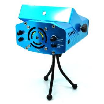 Detail Gambar Proyektor Laser Mini 12 Pattern - MGY-008 - Blue dan Variasi Modelnya