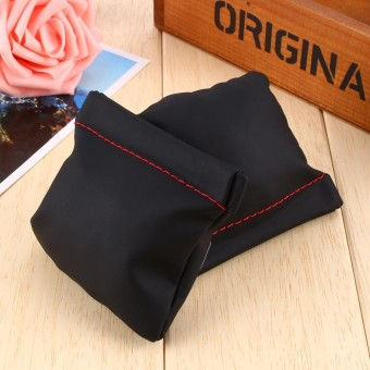 PU Kulit Penggantian Carrying Pouch Case Bag untuk Earphone-Intl