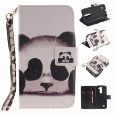 PU Leather Wallet Case Cover for LG K7 (Multicolor) - intl