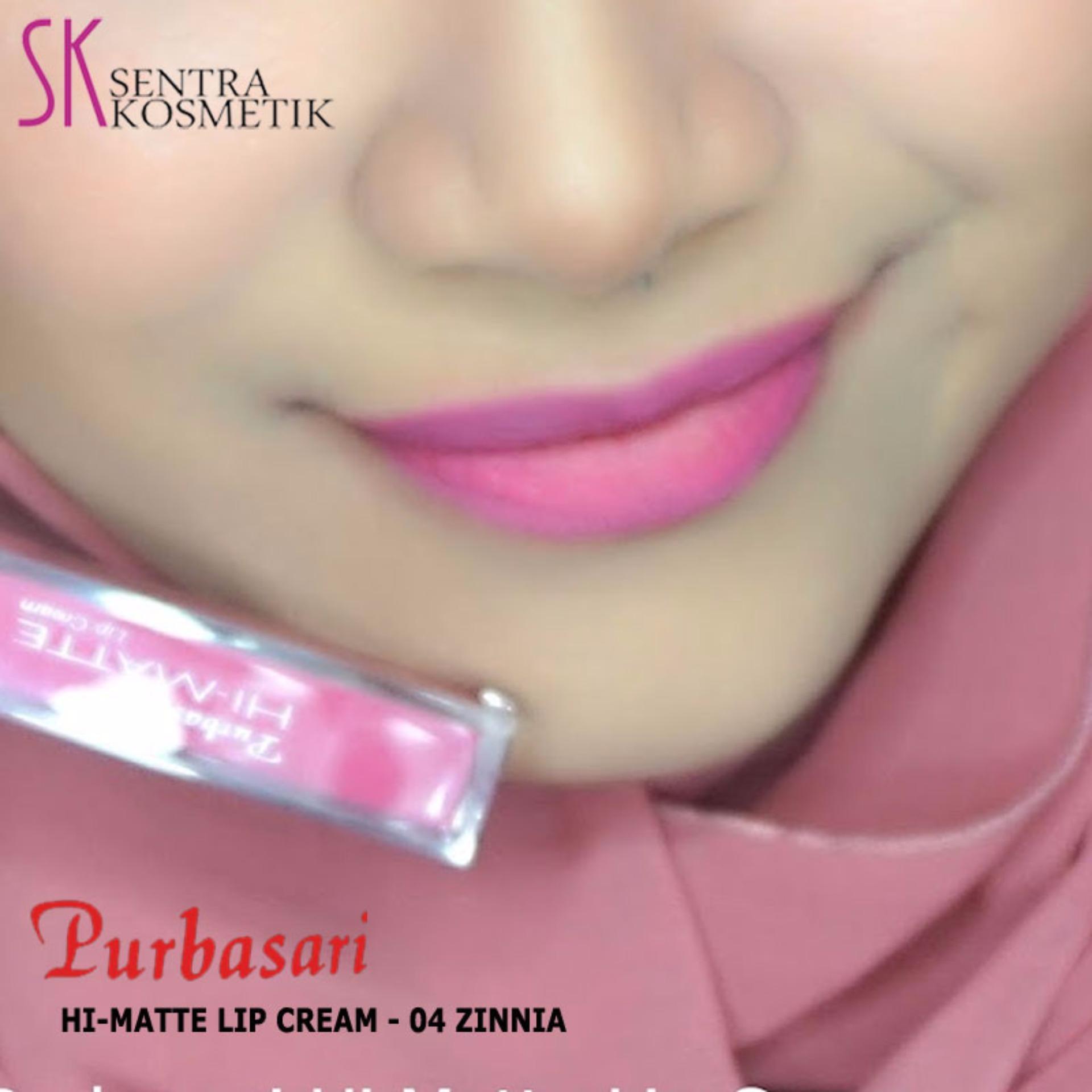 Purbasari Hi Matte Lip Cream 03 Lantana Daftar Harga Terbaru Dan Lipstick 04 Zinnia