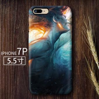 Gambar Putri Duyung 7iphone7plus kepribadian matte cangkang keras ponsel shell