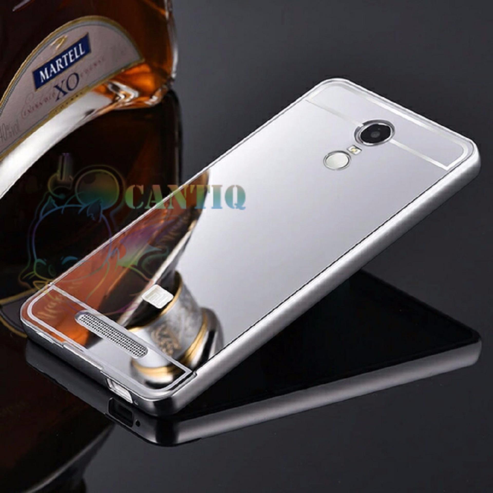 Pencari Harga Qcf Bumper Mirror Untuk Xiaomi Redmi Note 4x Alumunium Metalsliding Hardcase Silver