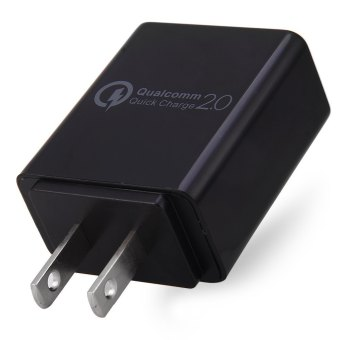 Qualcomm Quick Charge 2.0 USB Wall Fast Charger Adapter for TravelHome