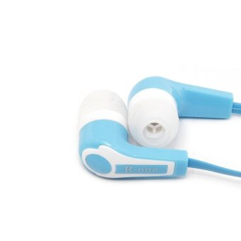 R-One Earphone Super Bass HG-01 - Biru