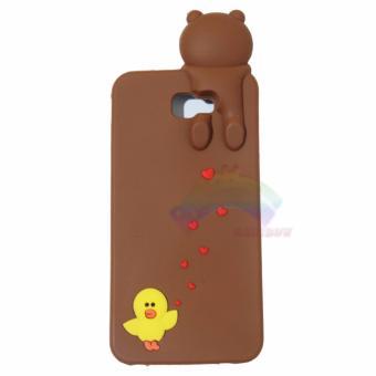... Soft TPU Cover for. Source · Gambar Produk Rinci Rainbow Samsung Galaxy J5 Prime Silikon Case 3D Karakter Line BearBrown Sally Peek