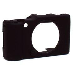 Rainbow Silicon Case Camera For Fujifilm X-M1 /  X-A1 / X-A2  / XA2 / XM1 / XA1 Rubber Case Camera/ Jelly Case Kamera - Hitam