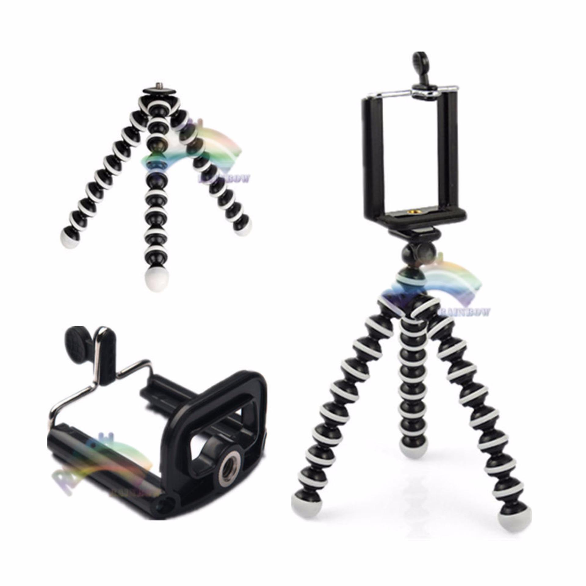 Rainbow Tripod Gurita Mini Spiral Kaki Tiga Untuk Smartphone 6inch, Webcam, Small Camera ...