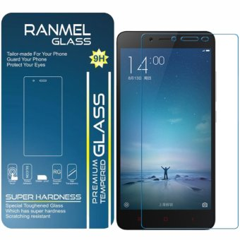 Ranmel Glass Tempered Oppo A37 - Premium Tempered Glass - Anti Gores - Screen Protector
