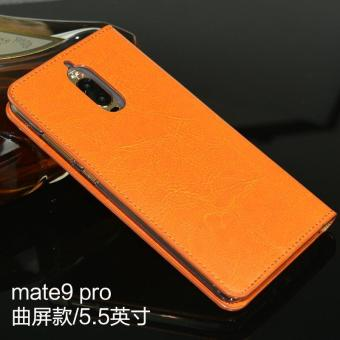 Real Leather Flip Phone Case Wallet Phone Cover Business Full Cover Phone Case For Huawei Mate9