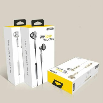 Remax Earphone with Microphone and Volume Control - RM-305M