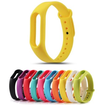 Replace Strap for Xiaomi Mi Band 2 Version MiBand 2 SiliconeWristbands for Mi Band 2 Smart