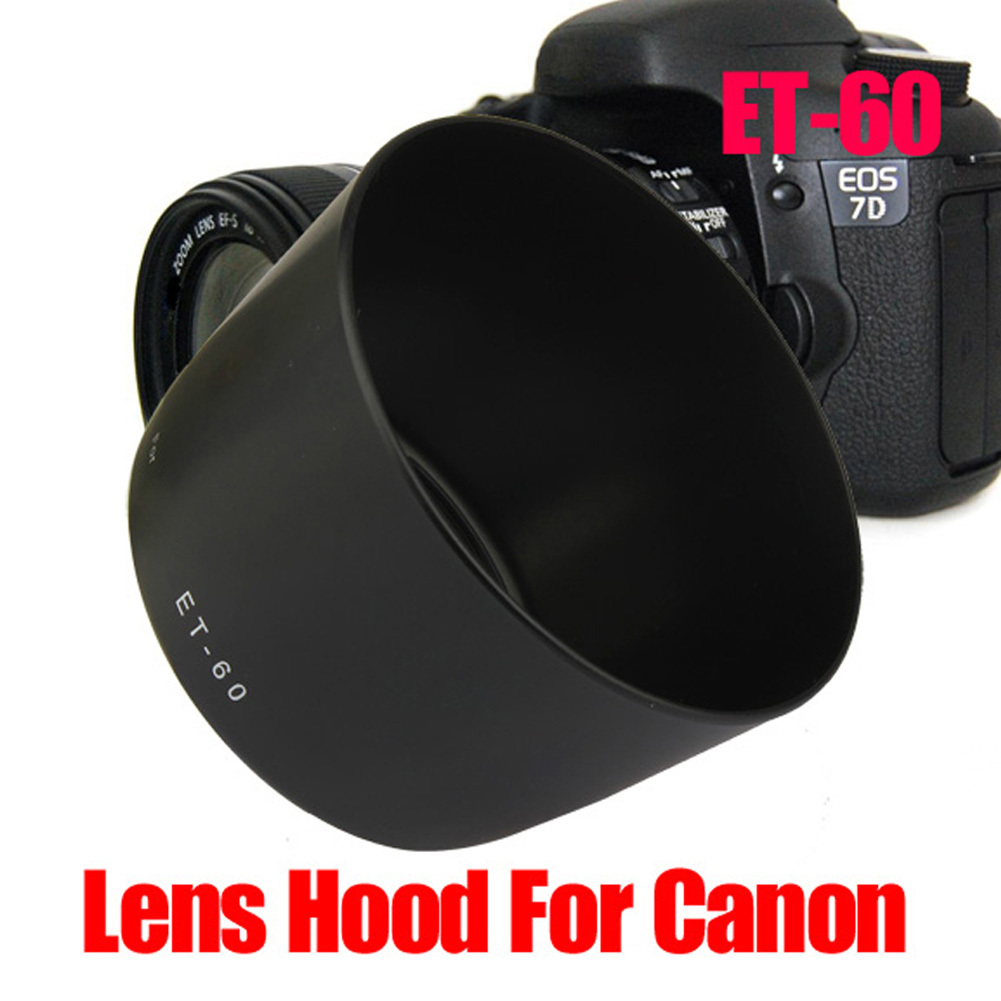 ... Replacement Lens Hood For Canon EF-S 55-250MM F/4-5.6 ...