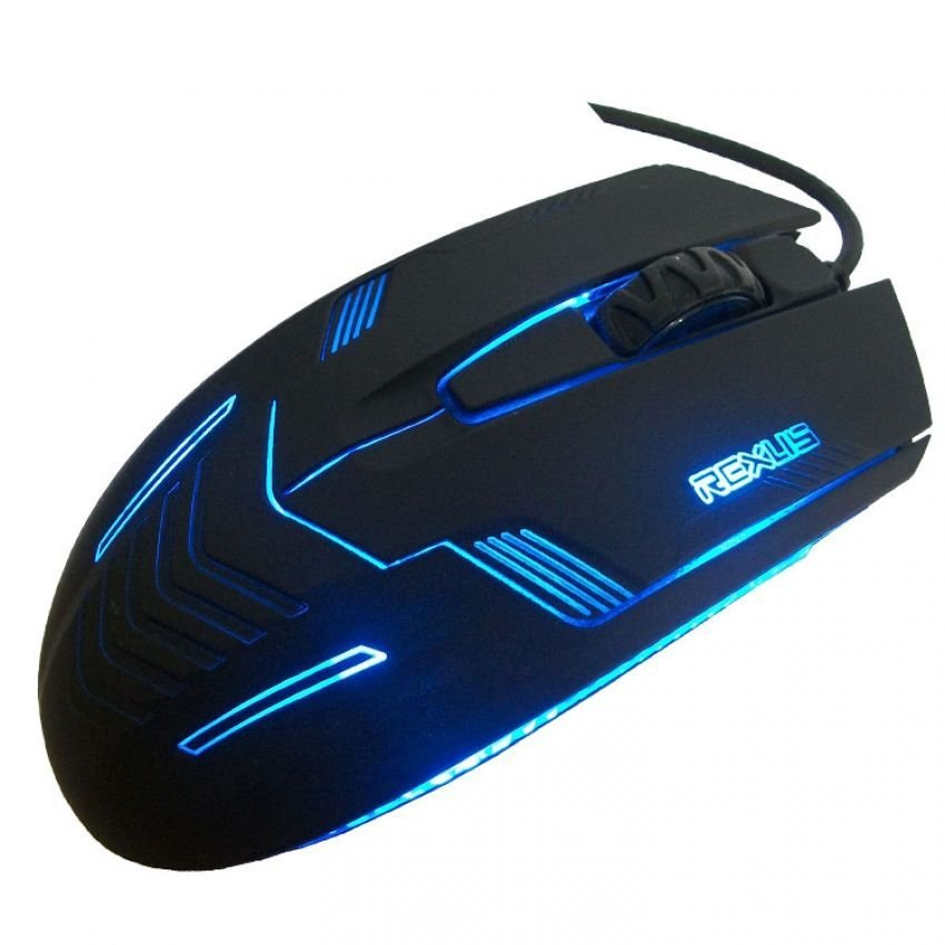 Rexus Gaming 3D Optical Game Style Mouse Model RXM-G3 - Hitam