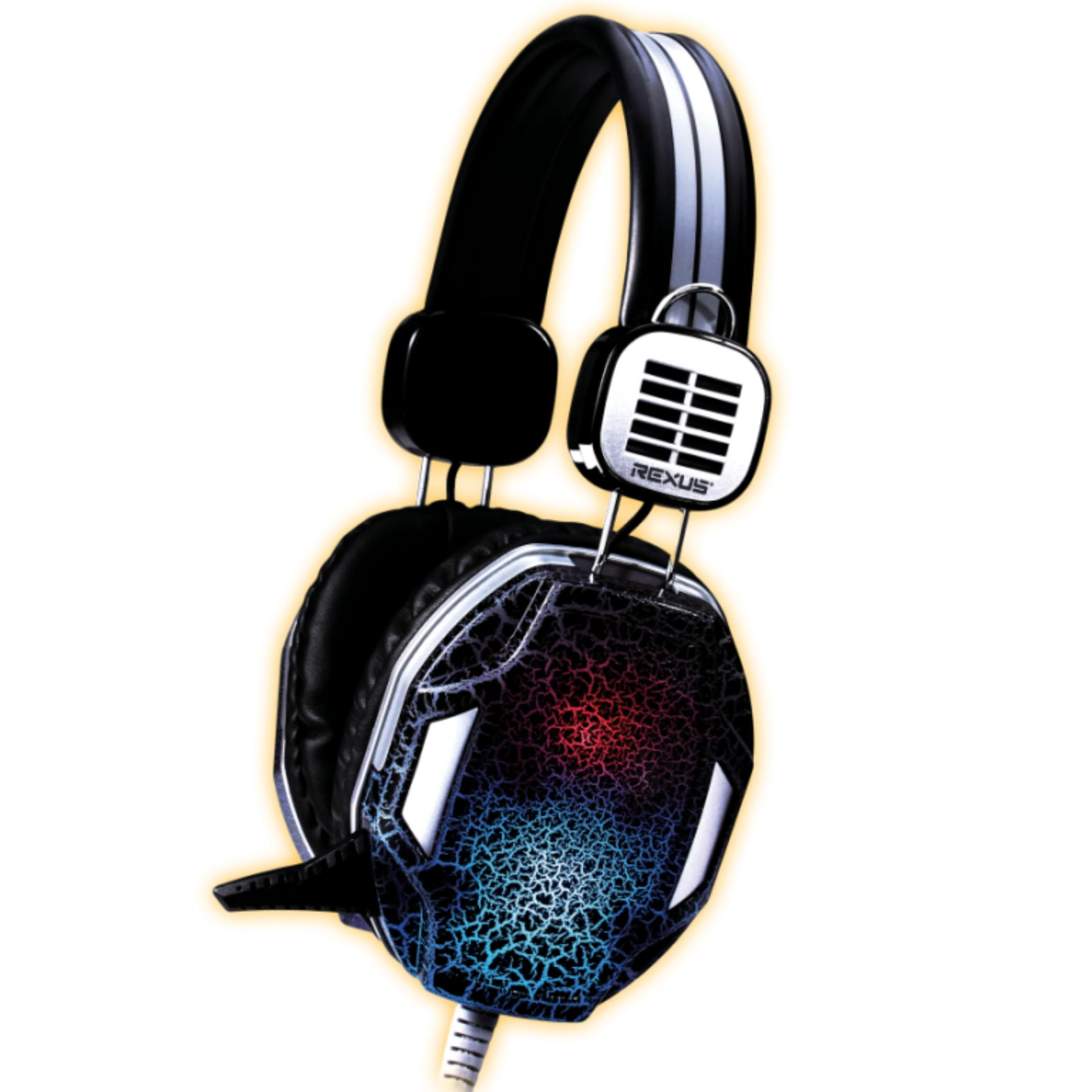 Pencarian Termurah Rexus Headset Gaming F17 F 17 Vonix F26 Hitam Headphone Head Set Earphone Black
