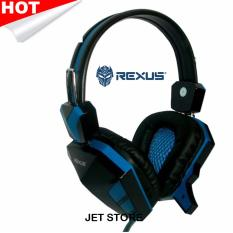 Rexus Headset Pro Gaming F22 - Biru.