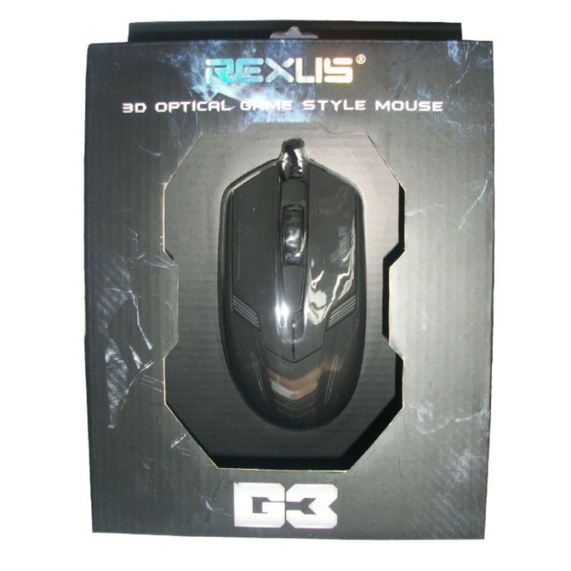 Harga Terendah Rexus Mouse Gaming Rxm G3 1000dpi Extreame G4 Hitam