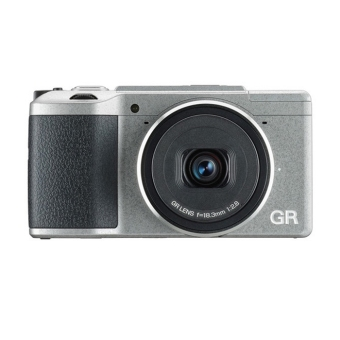 Ricoh GR II Silver Edition with Case